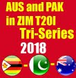 AUS and PAK in ZIM T20I Tri-Series 2018