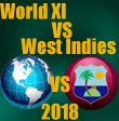 World XI Vs West Indies 2018