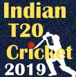 Indian T20 Cricket 2019