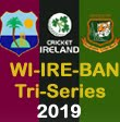 West Indies and Bangladesh in Ireland Tri-Series 2019